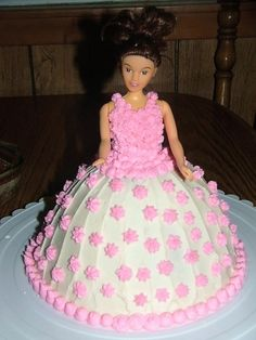 Barbie Cake - I had a Barbie cake like this when I was little!