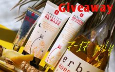 Beauty Unearthly: Giveaway by Ami Beauty Unearthly - Erborian / Розы...