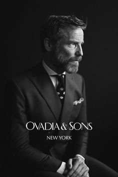 Rainer Andreesen for Ovadia & Sons Fall 2013.    This is going to be real good