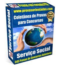 Coletânea 345 Provas de Assistente Social para Concursos