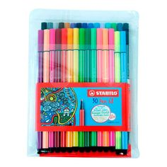 Stabilo Pen 68, Stabilo Boss, Accessoires Ipad, Back To School Stationery, Creative Bookmarks, Cool School Supplies, Art And Craft Materials, Cool Paper Crafts, Cute Journals