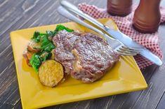 Roštenka na horčici Steak, Food, Essen, Steaks, Meals, Yemek, Eten