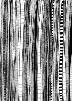 different illustrations around trees. Patricia Kleeberg