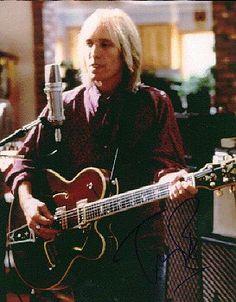 Tom Petty in the studio