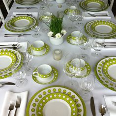 Table setting for a ladies tennis club dinner party.