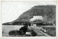 Lakeside - 1908 Places Of Interest, Old Buildings, Vintage Photographs, Cape Town, Old Photos, South Africa, Past, Surfing, Nordic Walking