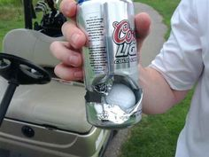 When this stray golf ball came within 12 ounces of his skull. | 23 Brushes With Death That Will Make You Want To Stay Home For A While