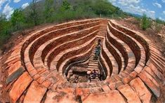 300 year old stepwell in Prakasam district of Andhra Pradesh, India [building] - architecture Detail Architecture, Indian Temple Architecture, India Architecture, Ancient Architecture, Amazing Architecture, Building Architecture, Gothic Architecture, Temple India, Amazing India