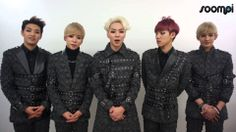 [Exclusive] Boy Group 100% (백퍼센트) Gives Soompiers a Shoutout!