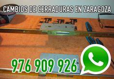 Cambios de cerraduras y bombillos por cerrajeros profesionales en Zaragoza