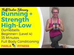 Indoor WALKING + Dumbbell STRENGTH | 8 Minutes per Round - YouTube