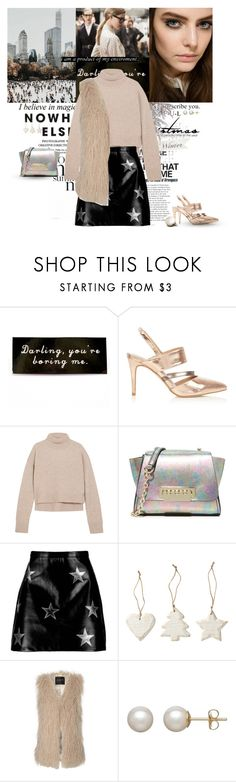 """Christmas style"" by karliuxxx ❤ liked on Polyvore featuring Hoolala, Gucci, Rejina Pyo, ZAC Zac Posen, Boohoo, Jane Norman and Honora"