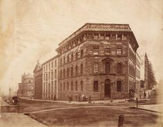The original Sydney Morning Herald building at the corner of Pitt,Hunter and O'Connell Sts,Sydney.A♥W