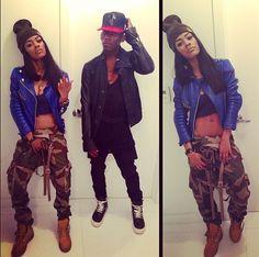 teyana taylor...... I love her style
