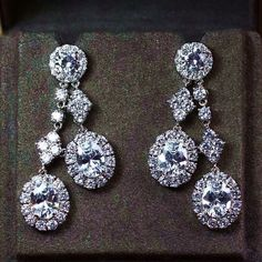 Zircon Earring JHZ-426 USD50.52, Click photo for shopping guide and discount