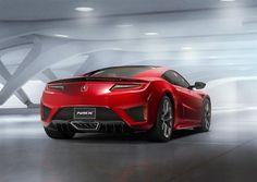 Honda NSX hybride : un V6 et 3 moteurs électriques