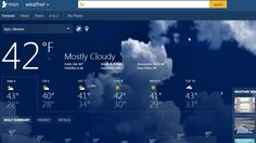 MSN Weather Gadget for Windows 7 http://weathergadget.net/get/msn-weather/  #weather, #windows7 , #gadgets , #desktop
