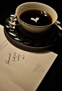 will you marry me coffee style