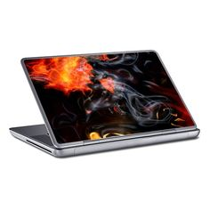 Smokin Hot Fire  Flames PC Laptop Skin by valbrackenridge at zippi.co.uk