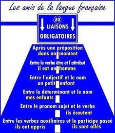 Enchaînements et Liaisons : des exercices - Enseignement/Apprentissage de la Prononciation du Français   Français FLE, FOS   Apprentissage, Traduction et Révision   Scoop.it