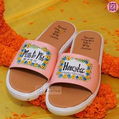 Most comfortable bridal footwear Wedding Looks, Bridal Looks, Bridal Footwear, Western Gown, Reception Gown, Bridal Heels, Dusty Rose Color, Stylish Blouse Design, Silver Heels