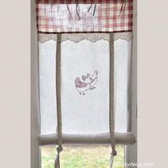 rideau cuisine store rouge d co campagne cuisine d co et ps. Black Bedroom Furniture Sets. Home Design Ideas