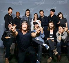 """747 Likes, 14 Comments - The Walking Dead (@twdcast) on Instagram: """"#TheWalkingDead's men. What's your fav and why? ❤️"""""""