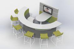 Attirant Browse Our Collaborative Office Furniture For Creative Office Space And  Collaboration Workspace Design.