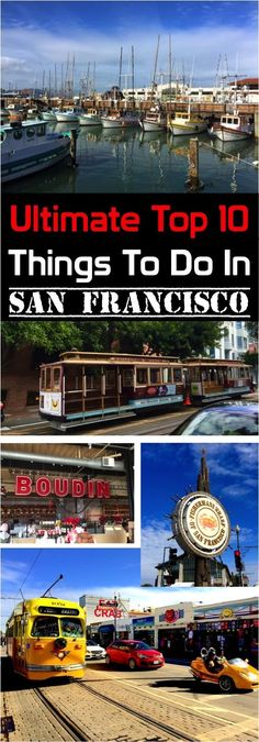 Things to do in San Francisco! Travel Guide with the best food, free things, tips for visiting on the cheap + more!