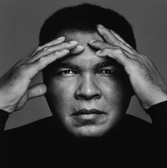 """It's lack of faith that makes people afraid of meeting challenges, and I believed in myself."" - Muhammad Ali   Happy 71st Birthday! Photo credit © Richard Corman"