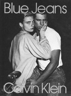 flashback: Calvin Klein campaigns of the and La campagne Calvin Klein Jeans 1986 par Bruce WeberLa campagne Calvin Klein Jeans 1986 par Bruce Weber Bruce Weber, Calvin Klein Ads, Calvin Klein Underwear, My Calvins, Gay Aesthetic, Steven Meisel, Fashion Advertising, Cute Gay Couples, Teen Couples