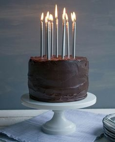 Chocolate & Peanut Butter Birthday Cake