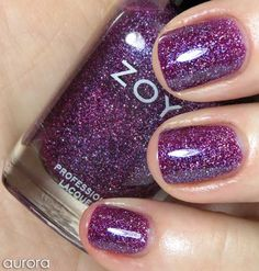 Review & Swatches: ZOYA Ornate Collection for Holiday 2012; Aurora is my fave shade!
