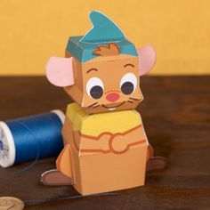 You can build this Gus Cutie Papercraft and take him on your own adventures. Just watch out for Lucifer the cat!