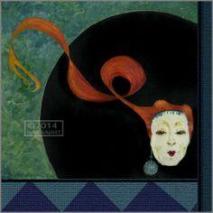 Minstrel Clown Court Jester Black Hat Pop Art Renaissance Signed Fine Art Print | eBay
