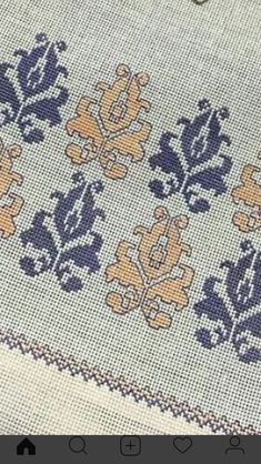 Cross Stitch Borders, Cross Stitching, Cross Stitch Embroidery, Hand Embroidery, Cross Stitch Patterns, Bargello, Needle And Thread, Blackwork, Crochet