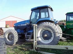 New Holland 8770 tractor salvaged for used parts. This unit is available at All States Ag Parts in Black Creek, WI. Call 877-530-2010 parts. Unit ID#: EQ-25071. The photo depicts the equipment in the condition it arrived at our salvage yard. Parts shown may or may not still be available. http://www.TractorPartsASAP.com