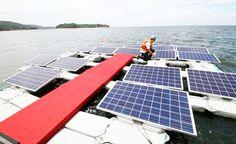 Brasil inaugura primeira usina solar flutuante do mundo   em lago de hidrelétrica   VISITE TAMBÉM NOSSAS PAGINAS:  www.polpatec.com.br www.facebook.com/polpatec.embalagens www.polpatec.blogspot.com.br