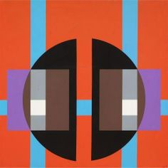 Herbert Bayer, Structure with Two Black Segments, 1971