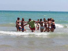 #acquagym #sport #interntionalcamping #pineto #abruzzo #italy #spiaggia #beach #sea #mare #sabbia #estate #divertimento #allegria #sole #sun #summer