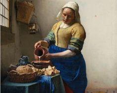Het Melkmeisje (The Milkmaid) - Johannes Vermeer, ca. 1660