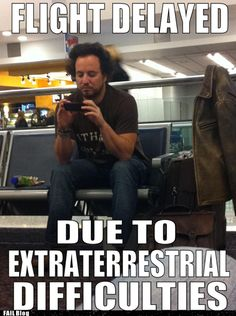 "I would know that hair anywhere. It's my favorite ""expert"" from the gripping History channel series, Ancient Aliens. Haha (check it out on Netflix)"