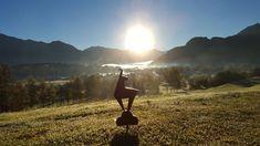 So lässt es ich in den Tag starten! Golf, Austria, Snow, Mountains, Nature, Travel, Tourism, Alps, Vacation