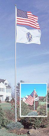 Sunsetter Telescoping FlagPole