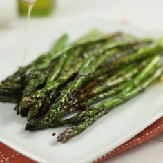 Say bye-bye to plain old grilled asparagus. This recipe gives it a sweet and sour lemon and honey makeover.