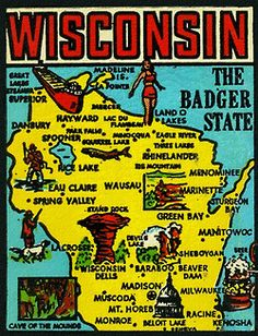 Wisconsin… the Badger State