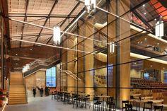 Theatre Netherlands architecture Den Helder industrial theatre glass hall de kampanje