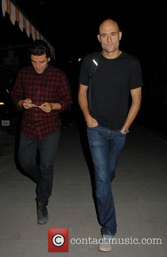 Mark and Oscar July 2014 in London