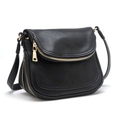 Tosca Expandable Crossbody Handbag Black -- Details can be found by clicking on the image. (This is an Amazon affiliate link)