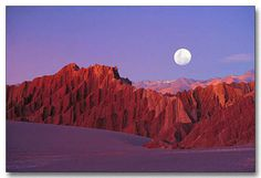 Atacama desert - valley of the moon